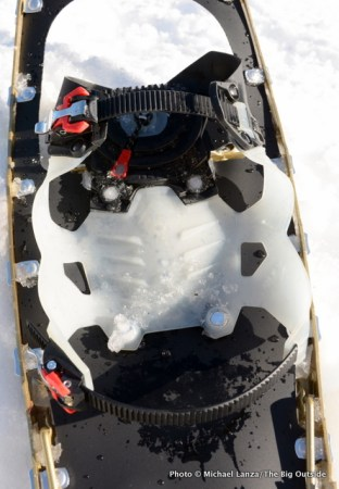 MSR Lightning Explore Snowshoes top.