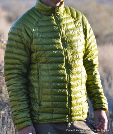Mountain Hardwear Ghost Whisperer Down Jacket.