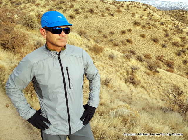 Smartwool Men's PhD Ultra Light Sport Jacket.