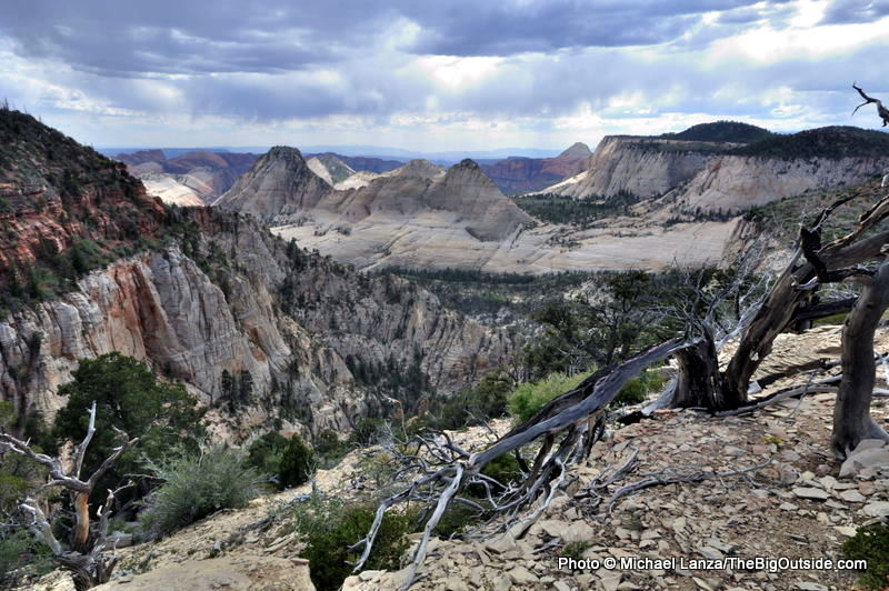 A view from the West Rim Trail in Zion National Park.
