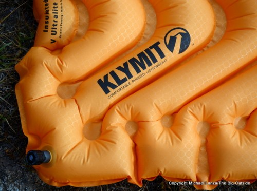 Klymit Insulated V Ultralite SL air mat.