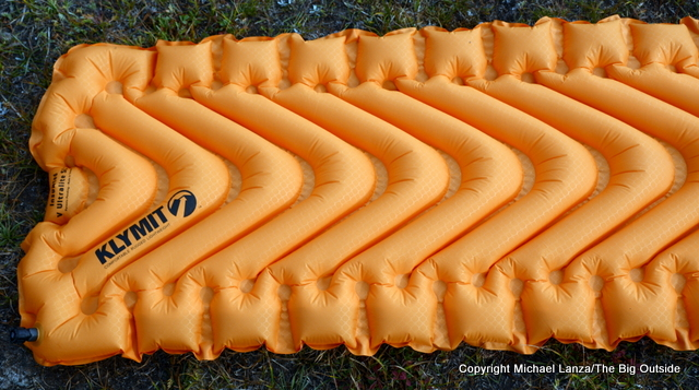 Klymit Insulated V Ultralite SL air mattress.