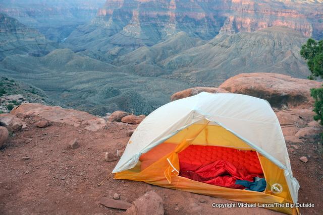 Big Agnes Tiger Wall UL 2 ultralight backpacking tent.