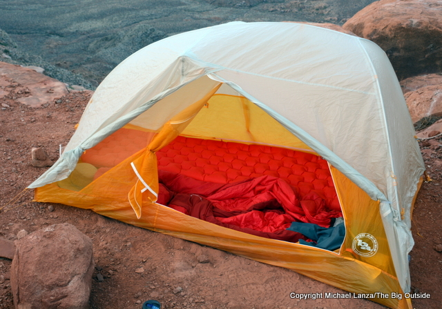 Big Agnes Tiger Wall UL 2 with rainfly.