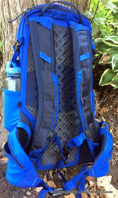 Patagonia Nine Trail 20L back side.