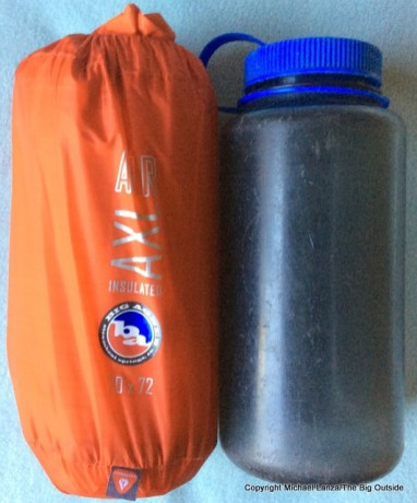 Big Agnes Insulated AXL stuffed.