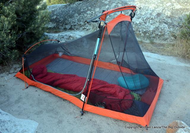 Slingfin 2Lite Trek ultralight backpacking tent.