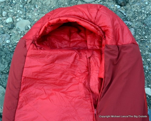 Big Agnes Picket SL 30 hood.