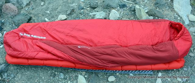 Big Agnes Picket SL 30 sleeping bag.