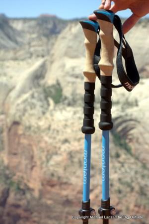 Montem Ultra Strong Trekking Poles.