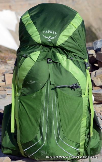 Osprey Exos 58 backpack.