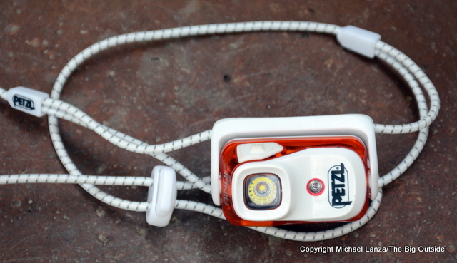 Petzl Bindi ultralight headlamp