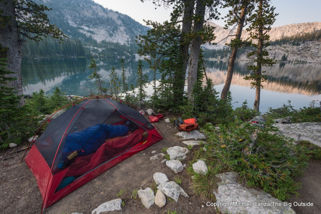 MSR Zoic 2 backpacking tent.