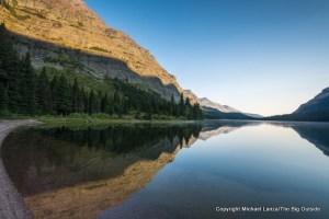 Elizabeth Lake in Glacier National Park.