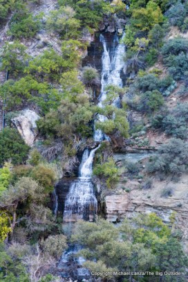 Roaring Springs, along the North Kaibab Trail in the Grand Canyon.