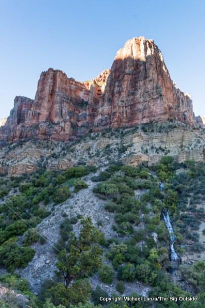 Gran7-144 Roaring Springs, North Kaibab Trail, Grand Canyon.