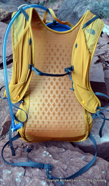The North Face Chimera 18 back and harness.