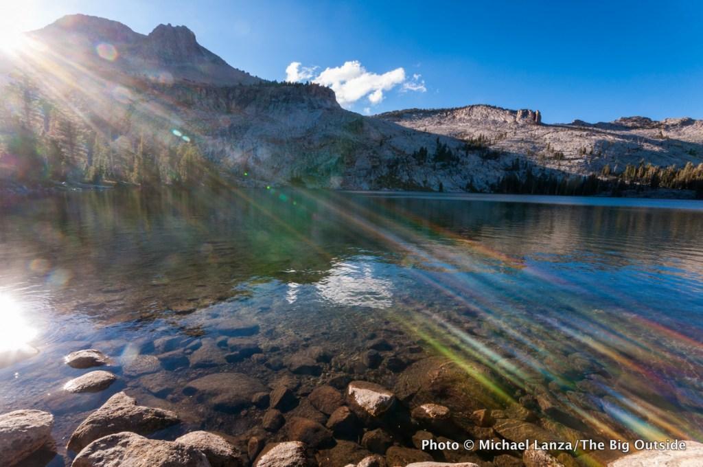 May Lake in Yosemite National Park.
