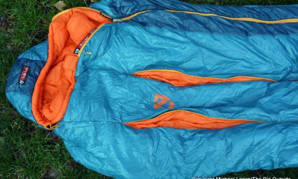 Nemo Kyan 20's Thermo Gills unzipped.