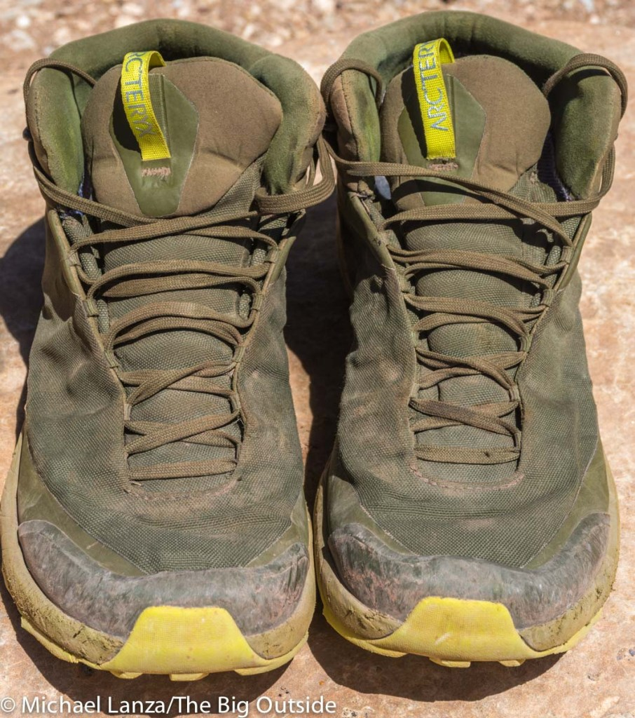 ca321f9e5892aa Gear Review: Arc'teryx Aerios FL Mid GTX Hiking Shoes | The Big Outside