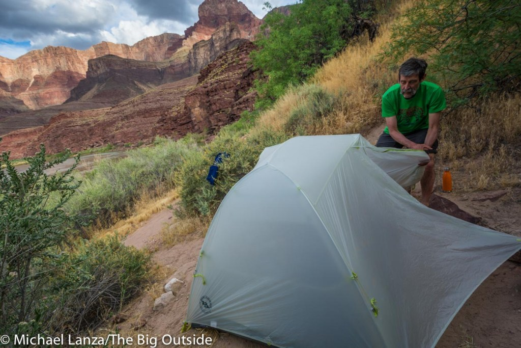 Big Agnes Tiger Wall 2 Platinum with rainfly.