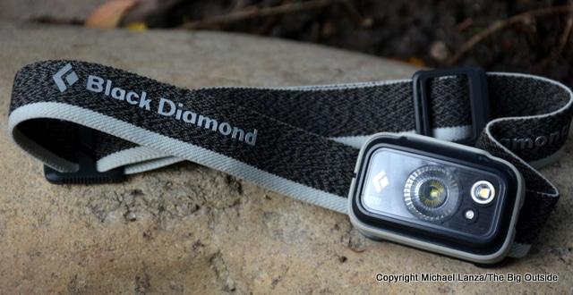 Black Diamond Spot325 headlamp.