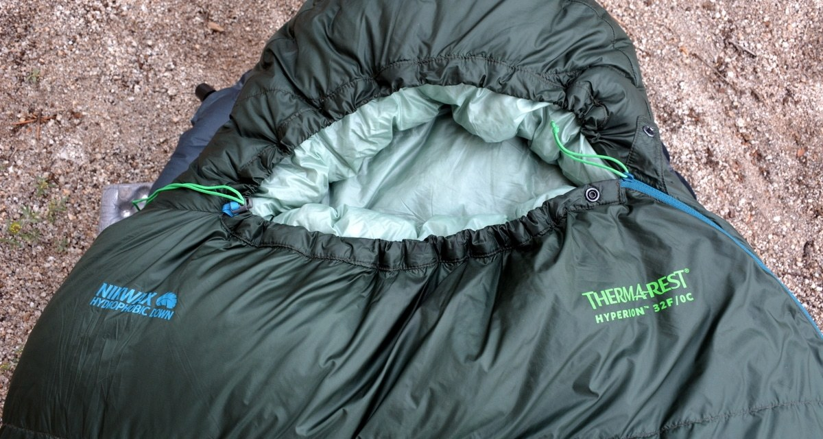 Gear Review: Therm-a-Rest Hyperion 32F Sleeping Bag