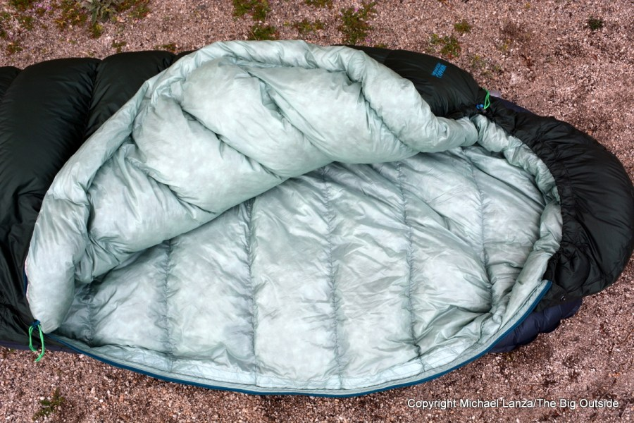 Therm-a-Rest-Hyperion-32F/0C sleeping bag.