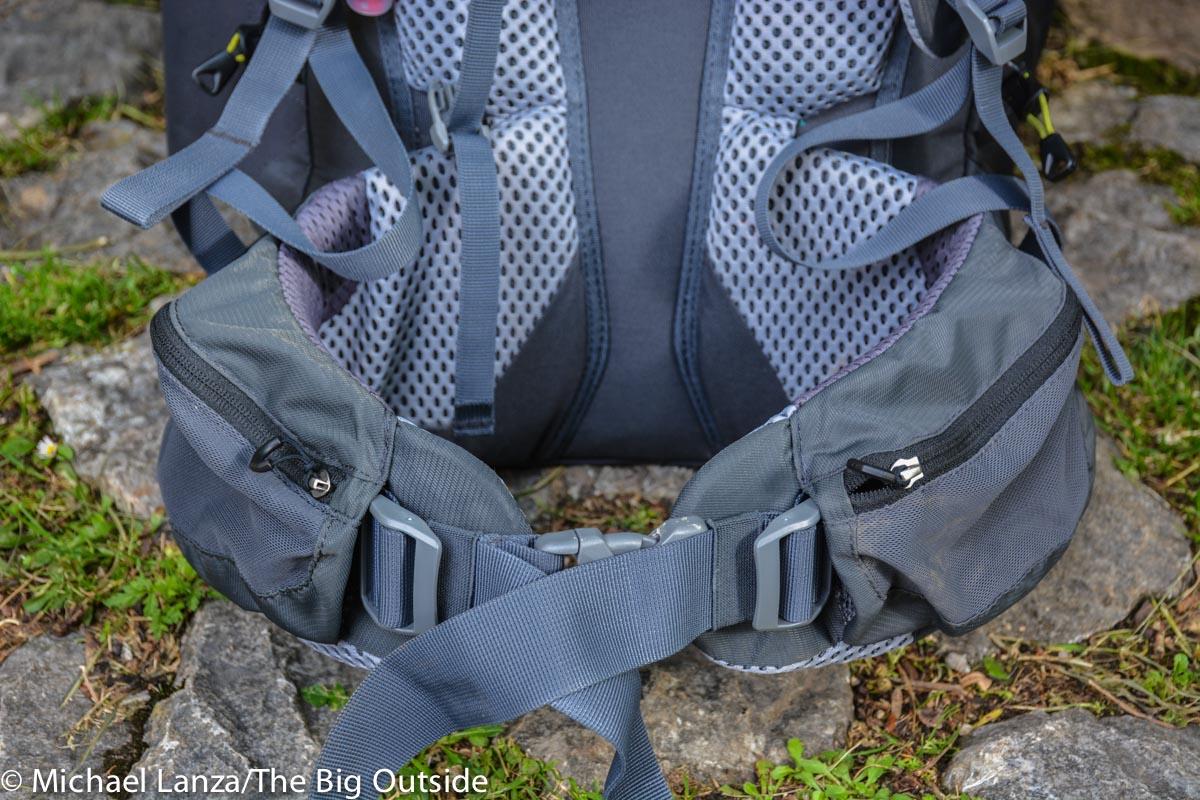 Deuter Trail Pro 36 hipbelt.