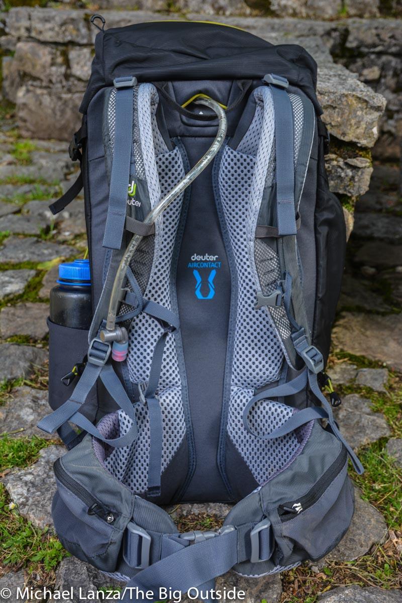 Deuter Trail Pro 36 suspension.
