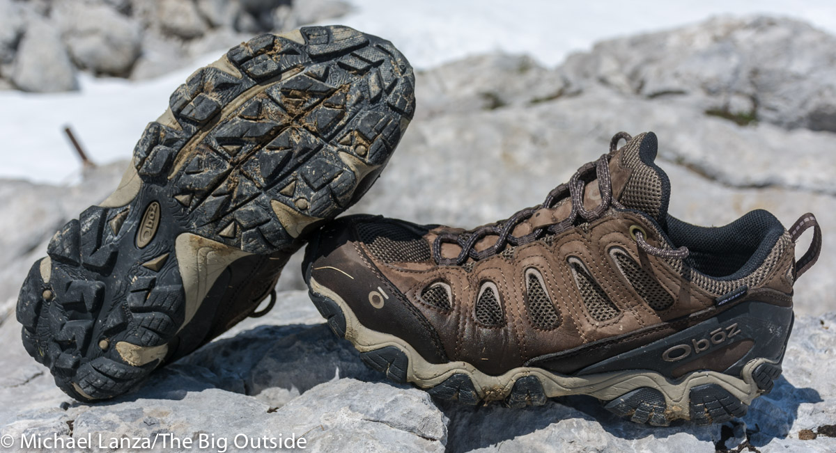 4d6558428e0 Gear Review: Oboz Sawtooth II Low Waterproof Hiking Shoes | The Big ...