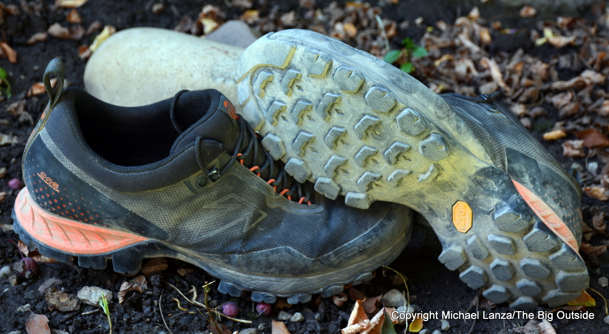 The Tecnica Plasma S hiking shoes.