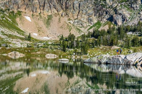 Lake Solitude in the North Fork Cascade Canyon, Grand Teton National Park.