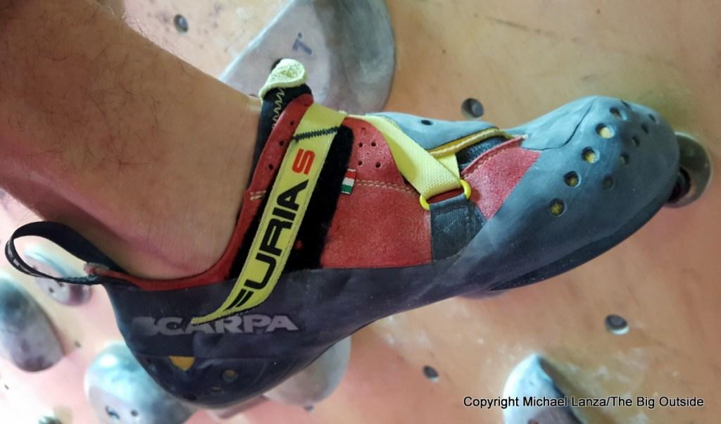 Scarpa Furia S shoes.