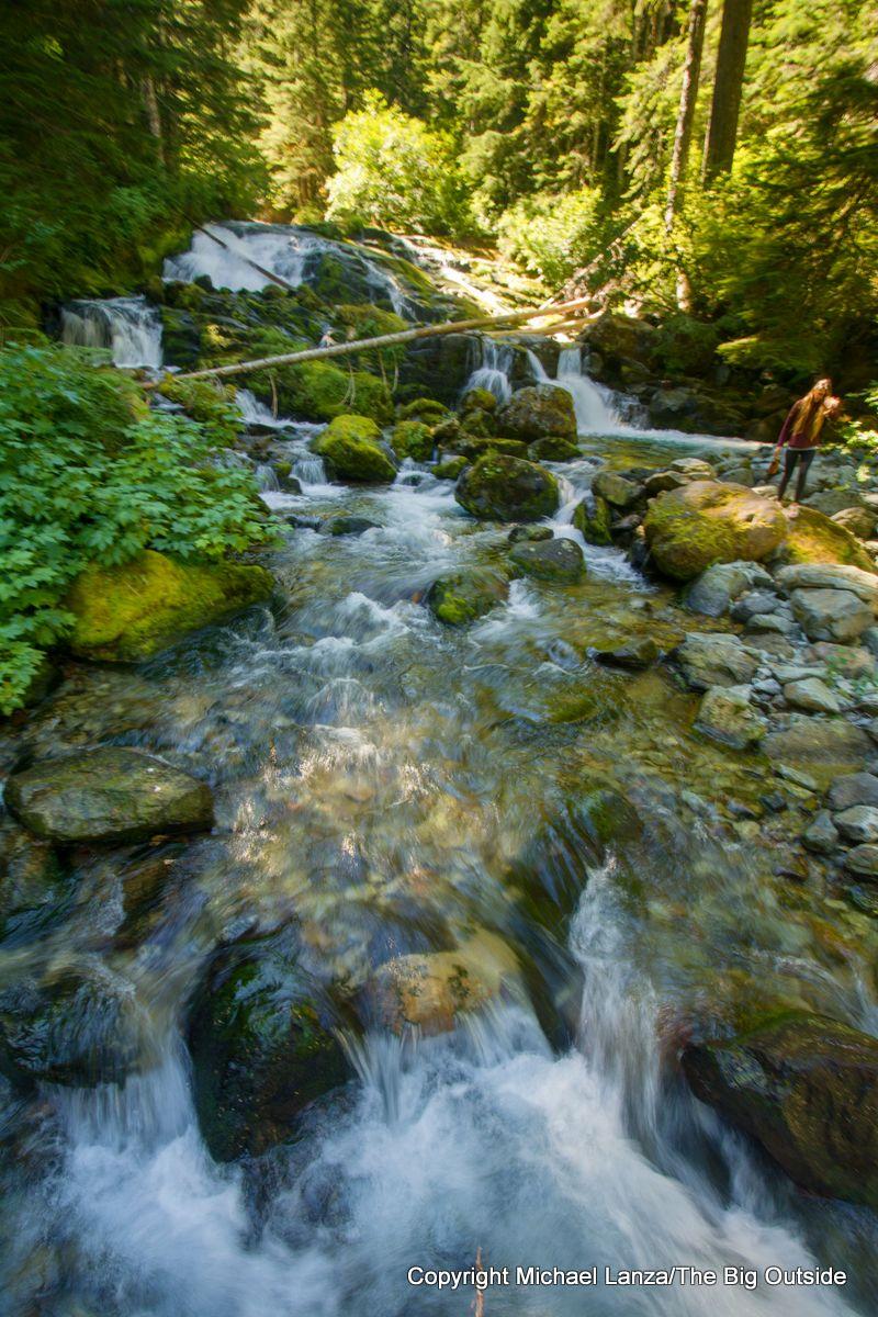 Cataract Creek along the Wonderland Trail, Mount Rainier National Park.