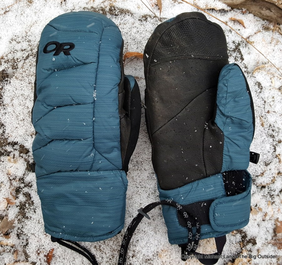 Outdoor Research Stormbound Mitts.