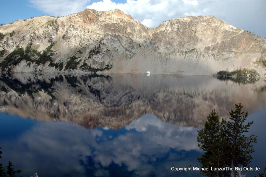 Sawtooth Lake in Idaho's Sawtooth Mountains.