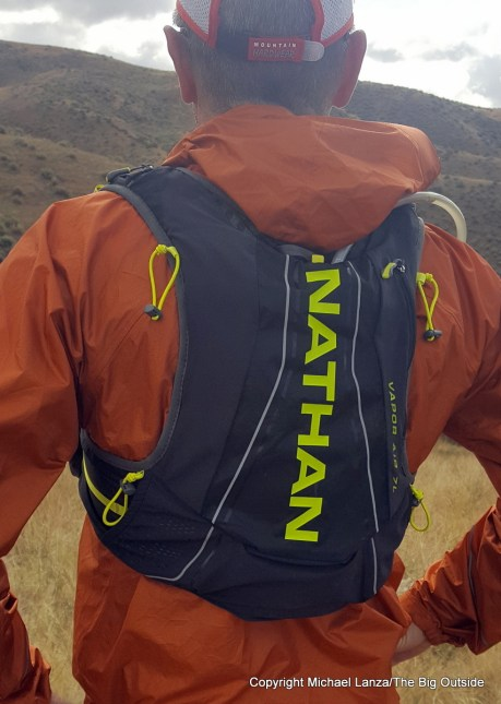 Nathan VaporAir 2.0 7L running hydration vest.