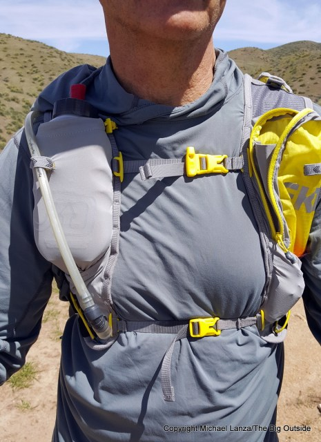 Ultimate Direction FKT running hydration vest.