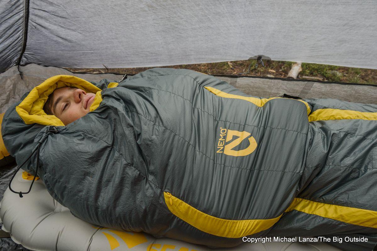 Nemo Riff 30 sleeping bag.
