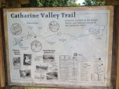 Map if the Catherine Valley Trail