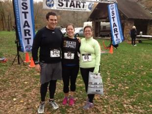 Me, Katrina & Jess pre race