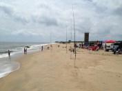 Heading south along Rehoboth Beach
