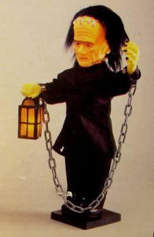 Glow-Head Monster (1990 Telco Stock Image)