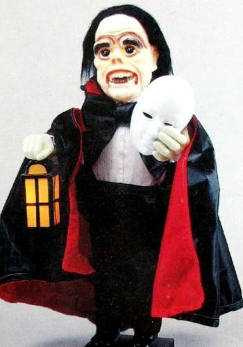 Glow-Head Phantom of the Opera (1990 Telco Stock Image)