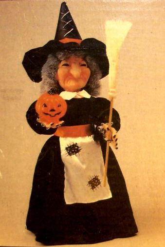 Glow-Head Witch (1990 Telco Stock Image)