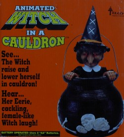 Animated Witch in a Cauldron Promotional Art