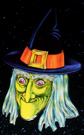 Beistle Green Witch