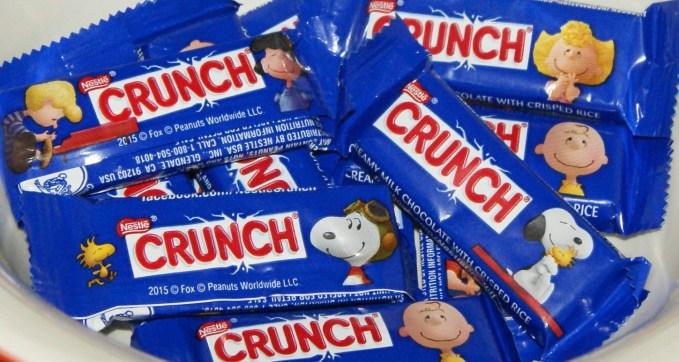 Peanuts Nestle Crunch