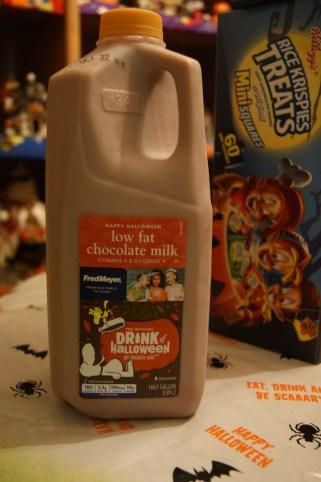 Kroger Halloween Milk